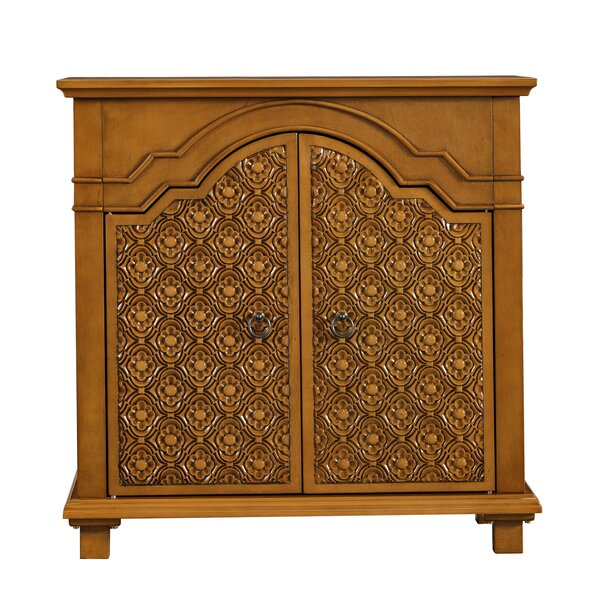Rizal 2 Door Accent Cabinet by Bungalow Rose