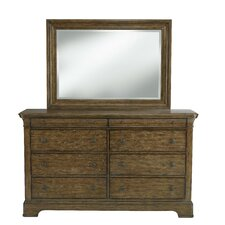 Tahoe 8 Drawer Dresser with Mirror by Loon Peak