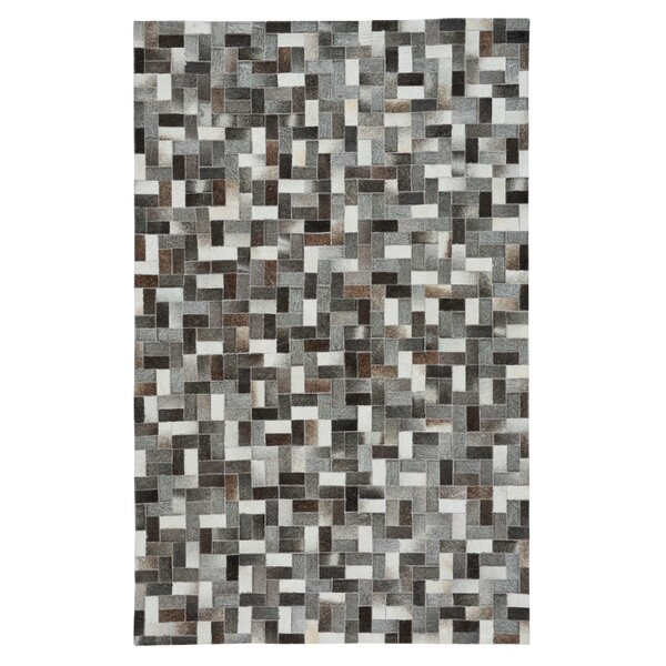Ramanna Black/Gray Area Rug by 17 Stories
