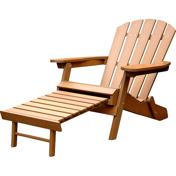 Faux Plastic Adirondack Chair by Merry Products