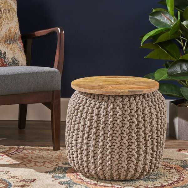 Springer Pouf by Bungalow Rose