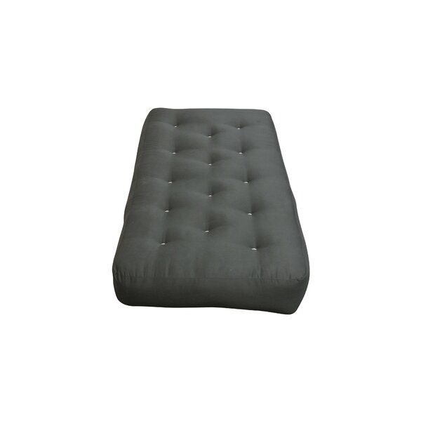 8 Cotton Duct Chair Size Futon Mattress by Gold Bond