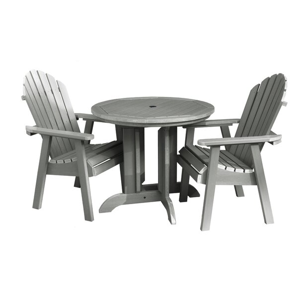 Anette 3 Piece Bistro Set by Sol 72 Outdoor