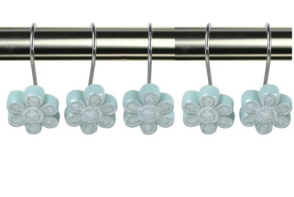 Camper Decorative Shower Curtain Hooks by August Grove