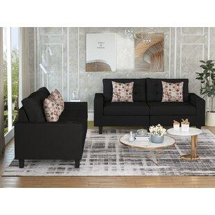 Dexiree 2 Piece Living Room Set by Latitude Run®