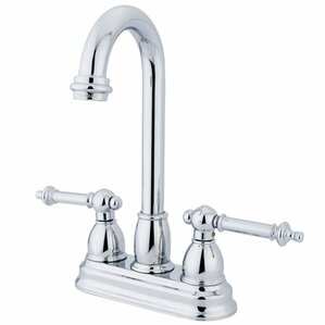 Elements of Design Double Handle Centerset Bar Faucet with Templeton Lever Handles