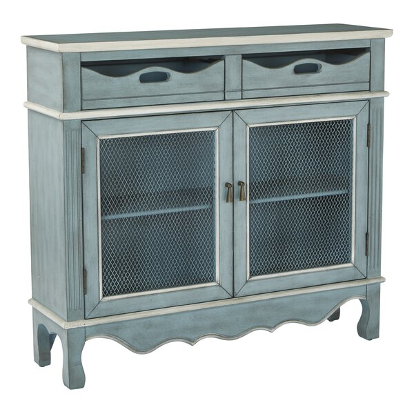 Roby Storage 2 Door 2 Drawer Accent Cabinet by August Grove