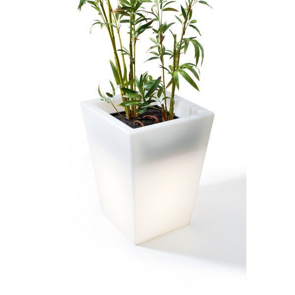 Luminous Plastic Pot Planter by Offi