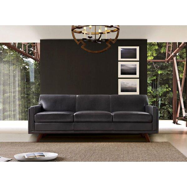 Premium Quality Ari Genuine Leather Modern Leather Sofa Surprise! 70% Off