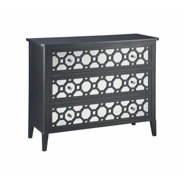 Fraser 3 Drawers Accent Chest By Rosdorf Park
