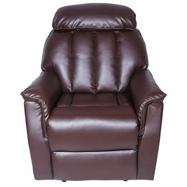 Mandaree Faux Leather Manual Recliner W002671919