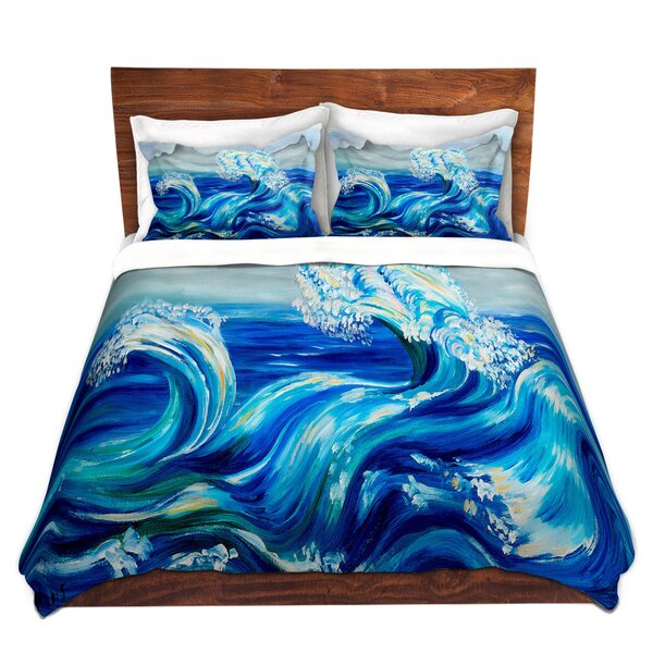 Waves Mountains Duvet Cover Set