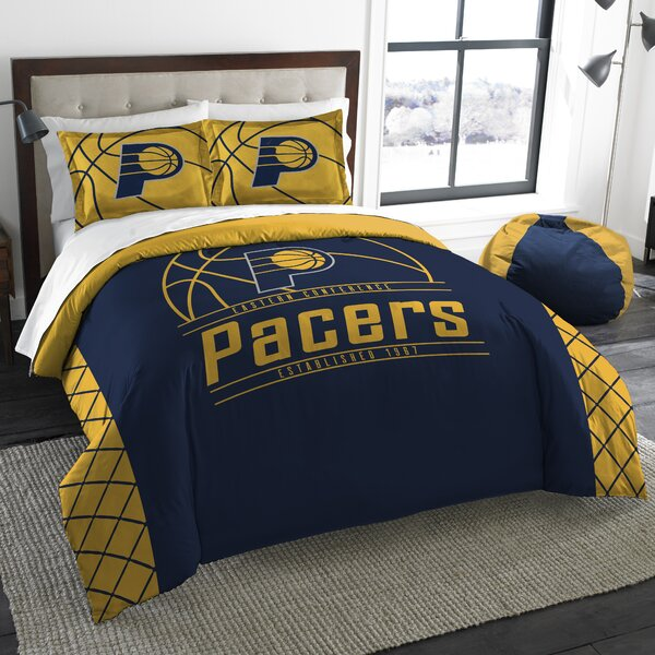 NBA Reverse Slam 3 Piece Full/Queen Comforter Set by Northwest Co.