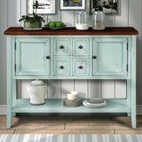 Neidig 46 Wide 4 Drawer Buffet Table by Highland Dunes