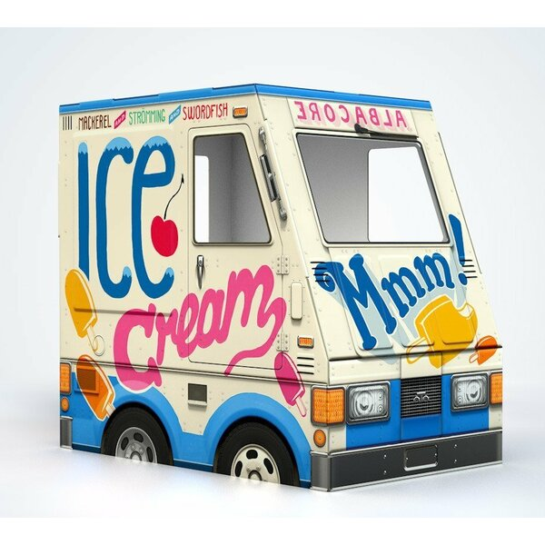 Ice Cream Truck Cat House by Famous OTO