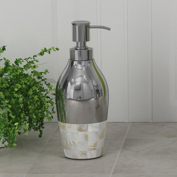 Mabry Soap & Lotion Dispenser by Rosecliff Heights
