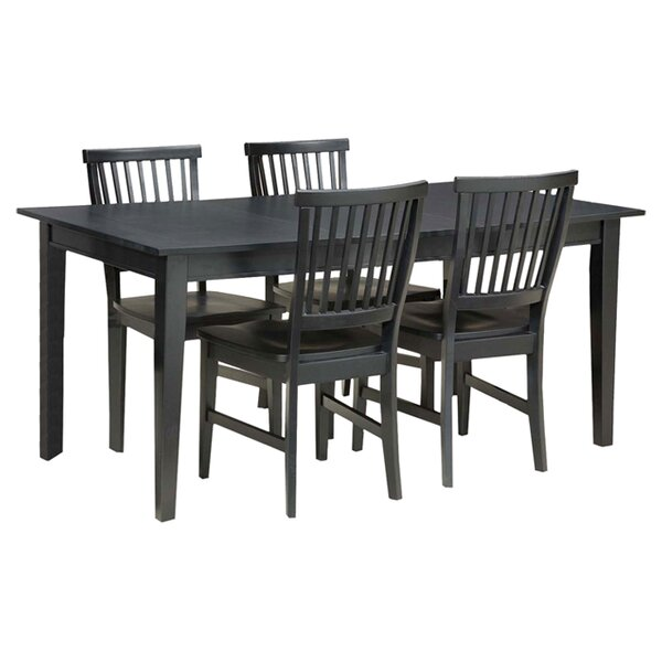 Ferryhill 5 Piece Dining Set by Three Posts