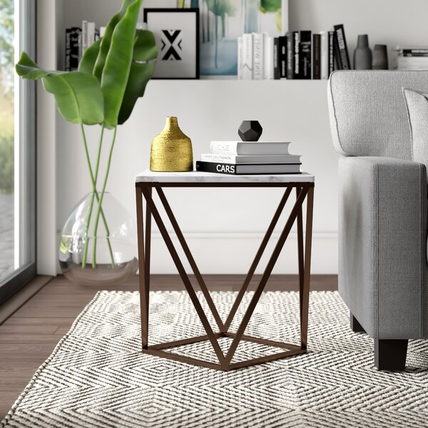 Morison End Table by Mercury Row