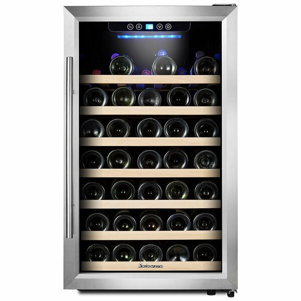 50 Bottle Single Zone Freestanding Wine Cooler by Kalamera