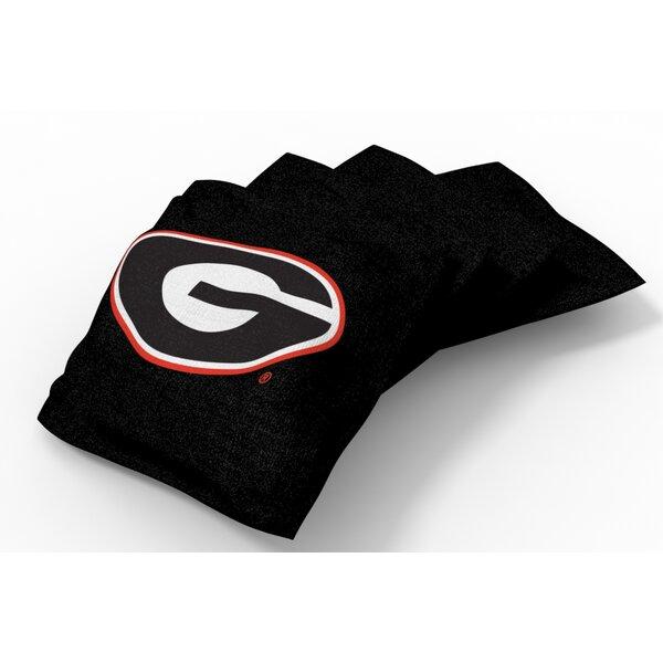 NCAA Bean Bag Set (Set of 4) by Tailgate Toss