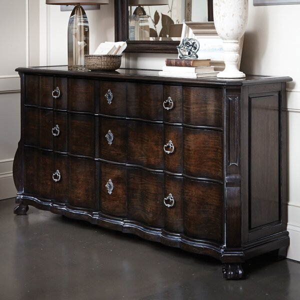 Sofitel 9 Drawer Standard Dresser by Astoria Grand