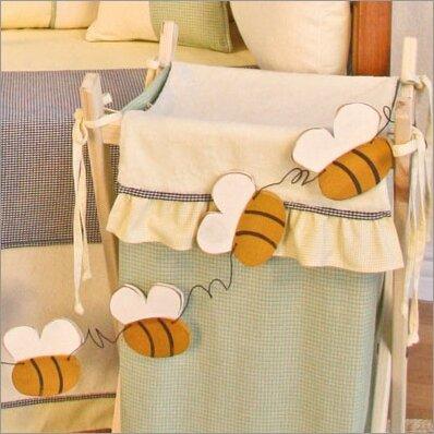 Bee My Baby Bee Garland Hanging Art by Brandee Danielle