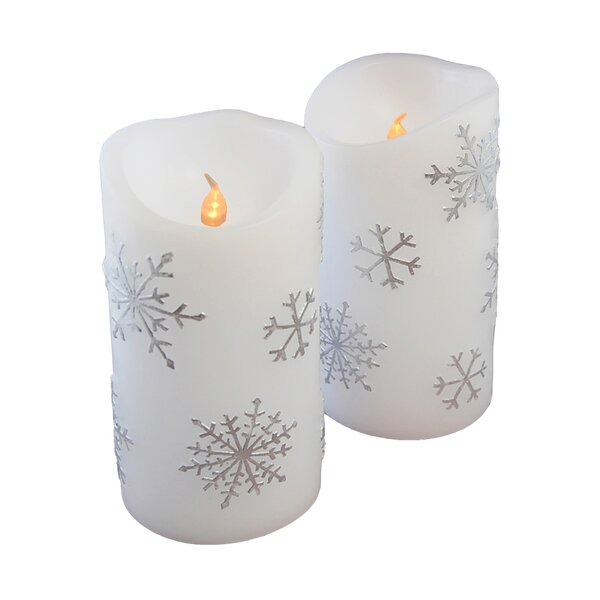 Christmas  Holiday Candle Holders  Etched Glass  Snowflake  Red  Tea Lights  Votives Beeswax Gift Idea  Home Decor
