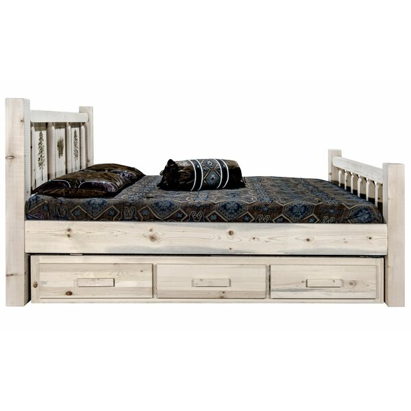 Tustin Storage Platform Bed by Loon Peak