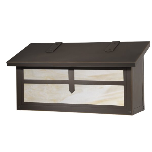 Arrow Horizontal Wall Mounted Mailbox by America's Finest Lighting Company