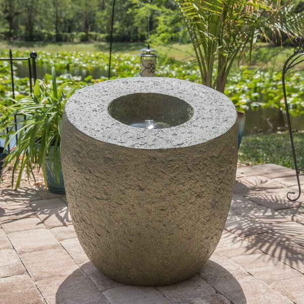Resin Mauna Floor Fountain by Wildon Home ®