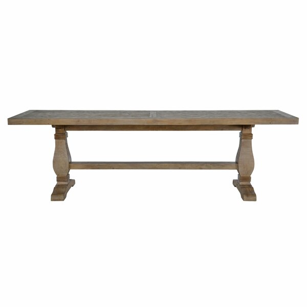 Gertrude Quincy Solid Wood Dining Table by Lark Manor