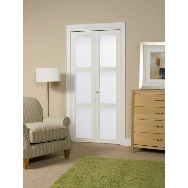 Baldarassario Panel MDF Bi-Fold Interior Door by Erias Home Designs