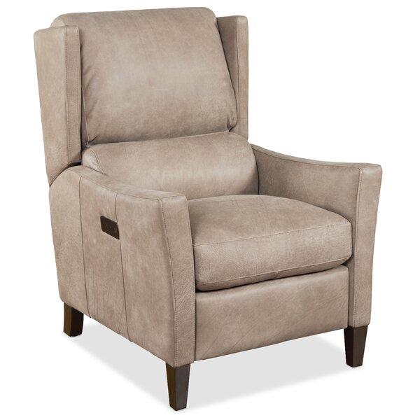 Larkin Leather Power Recliner by Hooker Furniture