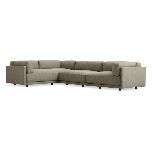 Sunday Right L Sectional Sofa by Blu Dot