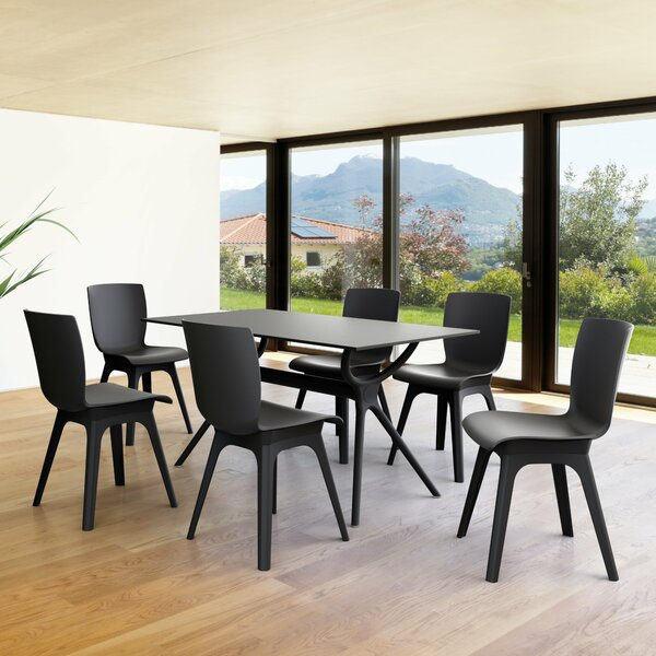 Vivian 7 Piece Dining Set by Wrought Studio