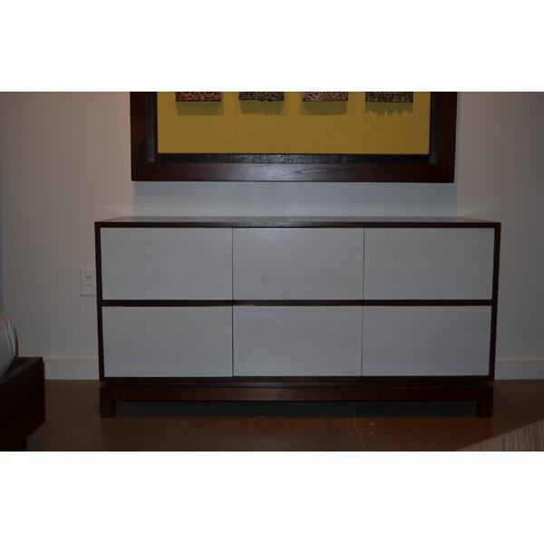 Nusa 6 Drawer Dresser by Indo Puri