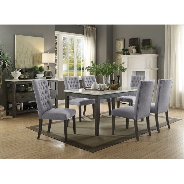 Lacluta 7 Piece Dining Set by Ophelia & Co.