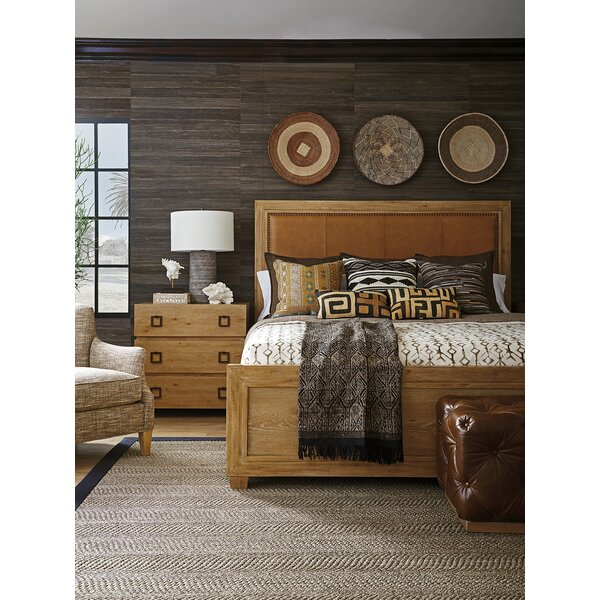 Los Altos Upholstered Panel Configurable Bedroom Set by Tommy Bahama Home