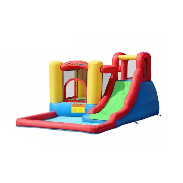 Jump and Splash Adventure Bounce House by Bouncela