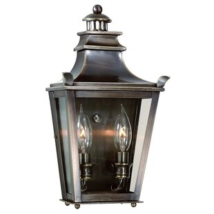 Reviews Annett 2-Light Outdoor Flush Mount By Darby Home Co