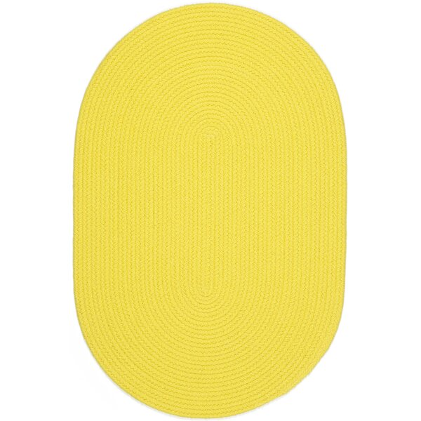 Saiha Yellow Indoor/Outdoor Area Rug by Meridian Rugmakers
