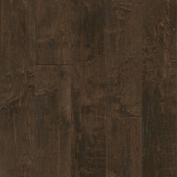 American 5 Solid Maple Hardwood Flooring in Brown Ale by Armstrong Flooring