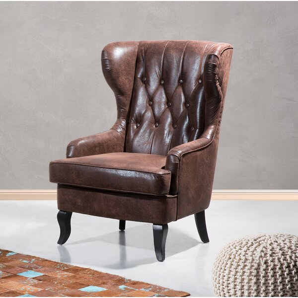 Adams Wingback Chair by Williston Forge