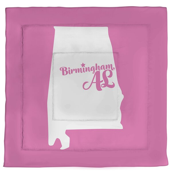 Alabama Birmingham Single Reversible Comforter