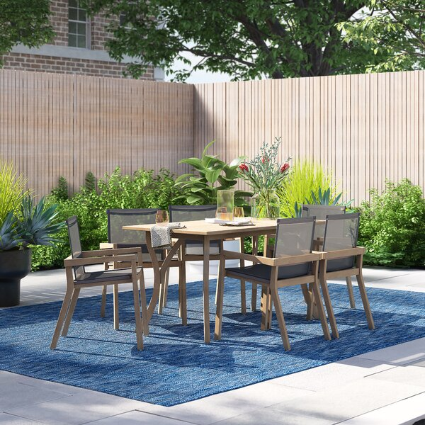 Melody 7 Piece Dining Set by Foundstone