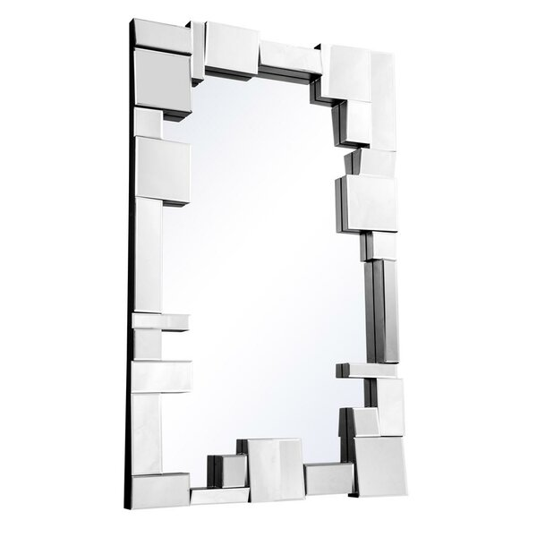 Pennsburg Rectangle Glass Wall Mirror by Wade Logan