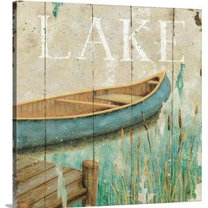 Waterside I by Daphne Brissonnet Graphic Art on Wrapped Canvas by Great Big Canvas