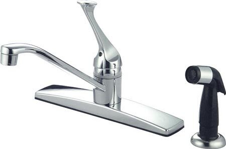 Columbia Single Handle Kitchen Faucet by Kingston Brass Kingston Brass