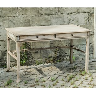 Astra Solid Wood Writing Desk by August Grove Design