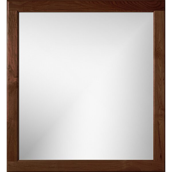 Simplicity Rounded Edge Framed Mirror by Strasser Woodenworks